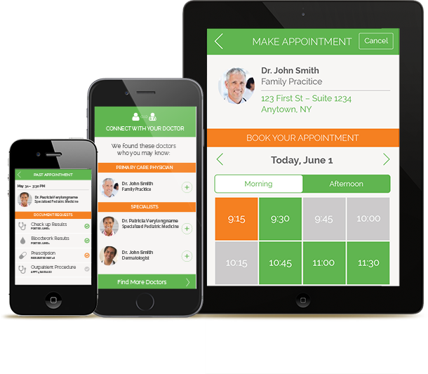 HealthJump is a secured portal to manage health records from different providers & allowing Patient to interact with Doctors